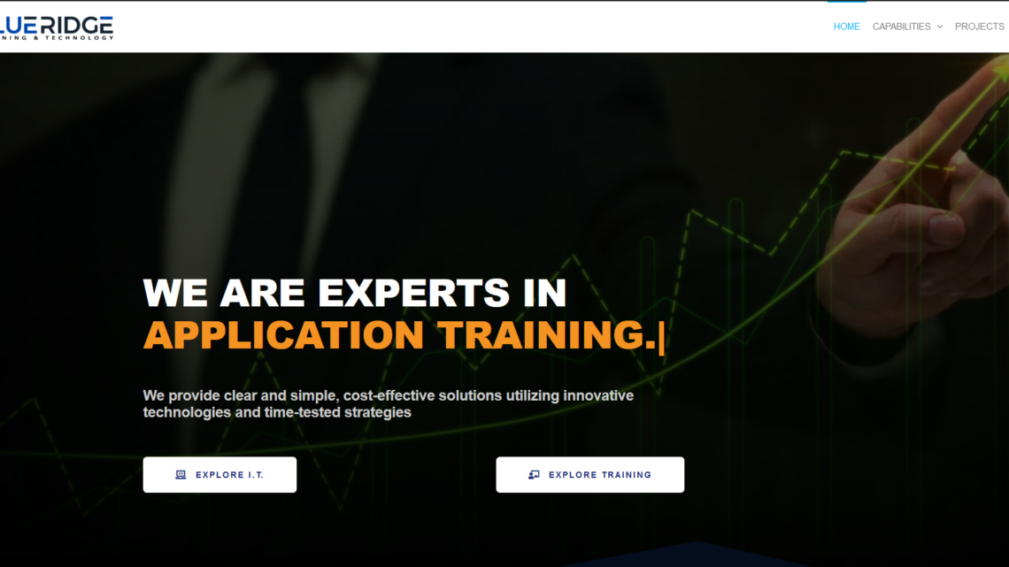 blueridge it solutions training