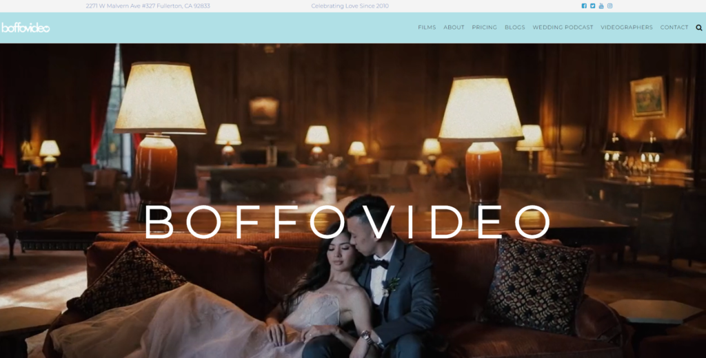 boffo video weddings events parties elopements